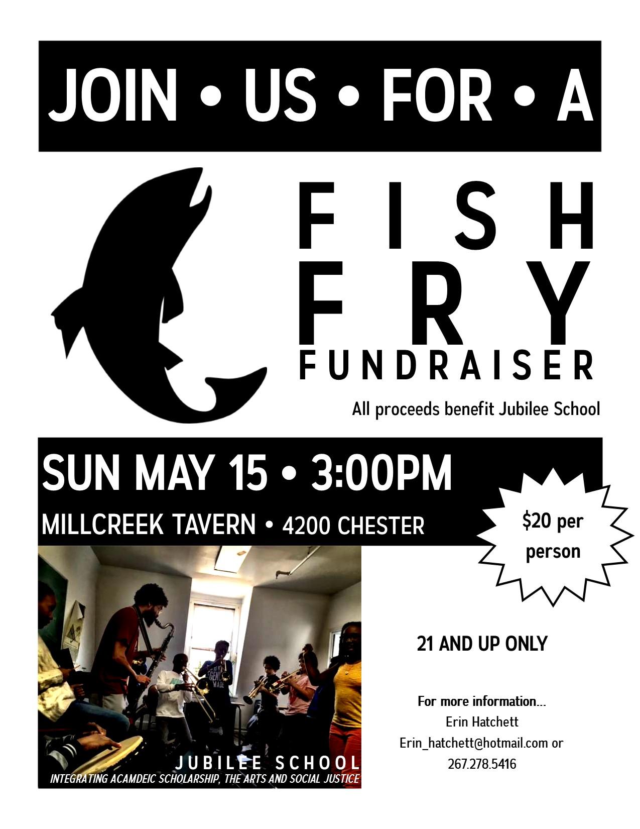 jubilee school fish fry fundraiser jubilee school fish fry flyer